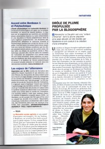 Article Objectif Aquitaine mars 2012