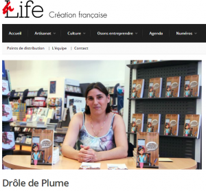 Chômette chez Alife Mag