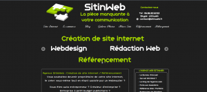 Sitinweb, creation de sites Internet, referencement
