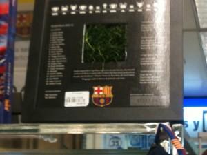 La pelouse du Barça en vente