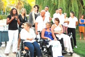 Laura Flessel, les parrains, marraines et personnes atteintes du SED