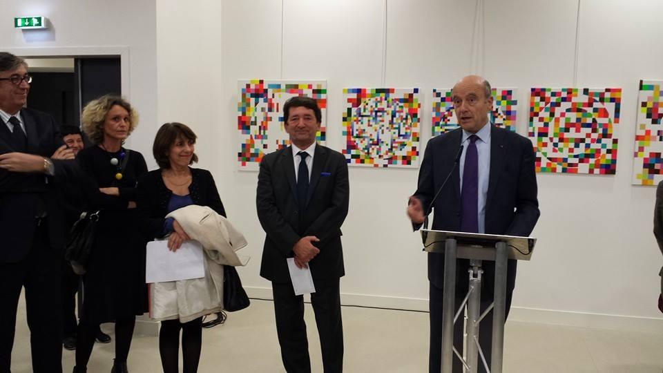 Alain Juppé et les écrivains bordelais