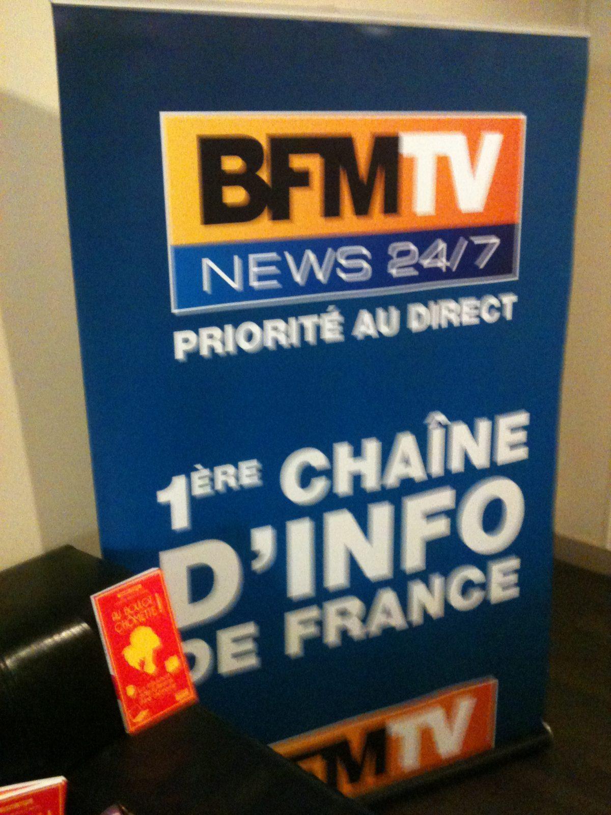 Drôle de Plume chez BFMTV