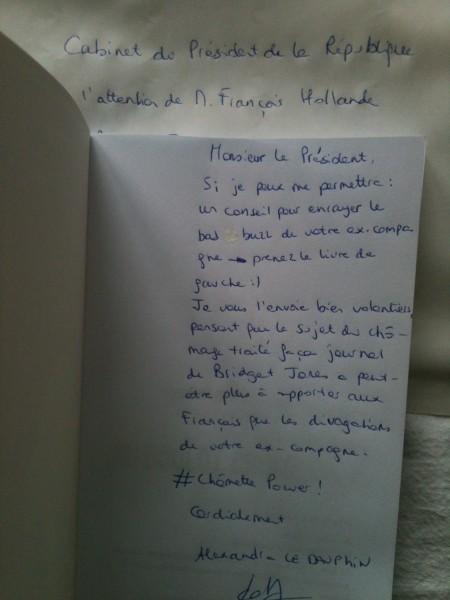 Dédicace François Hollande