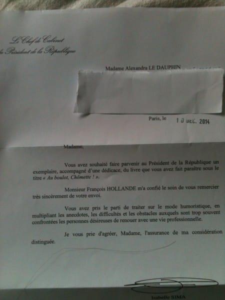 Quand François Hollande répond à Chômette